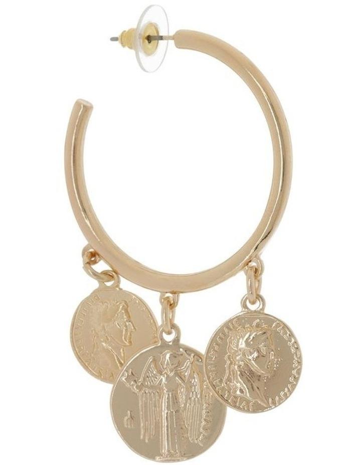Triple Coin Hoop image 2