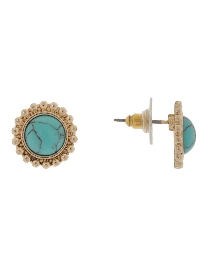 Boho Stud Earring image 2