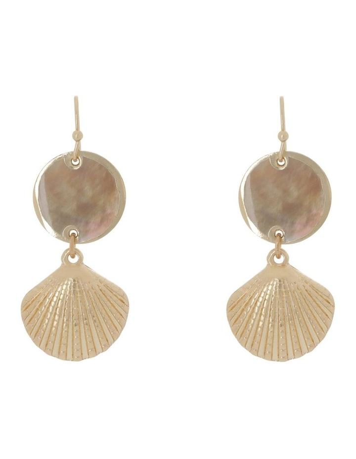Shell Drop Earring image 1