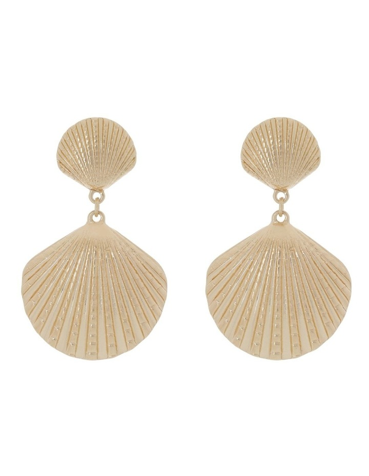 Double Shell Earring image 1