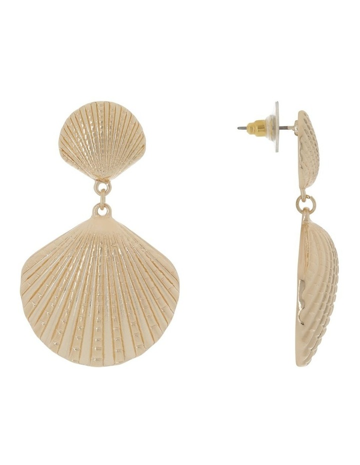 Double Shell Earring image 2
