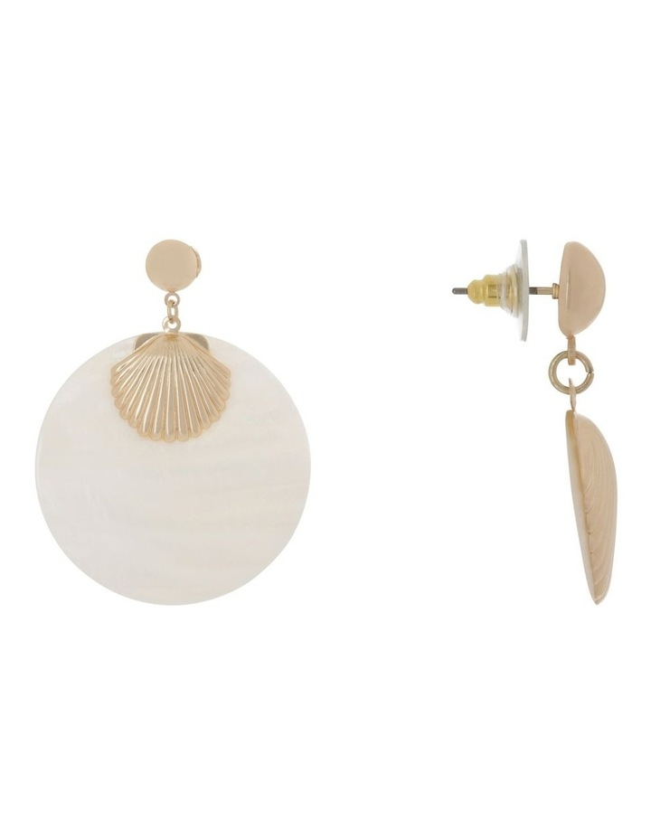 Shell Statement Earring image 2