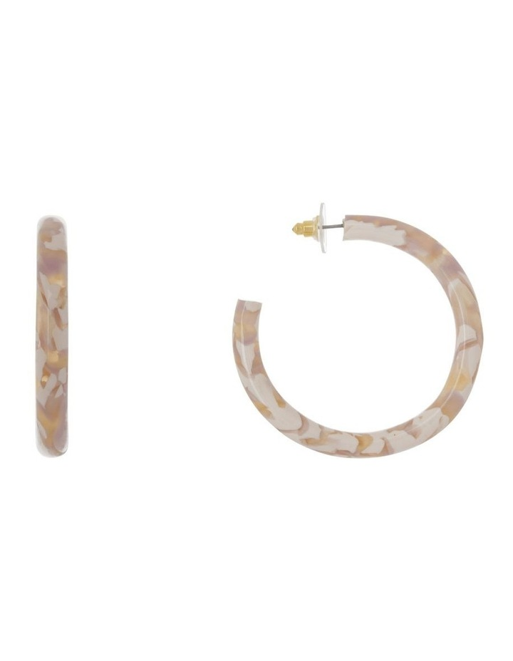 Rounded Acetate Hoop image 1