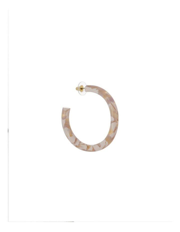 Rounded Acetate Hoop image 2