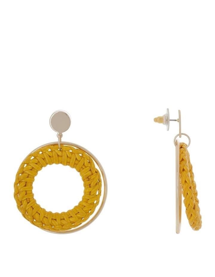 Raffia Metal Earring image 2