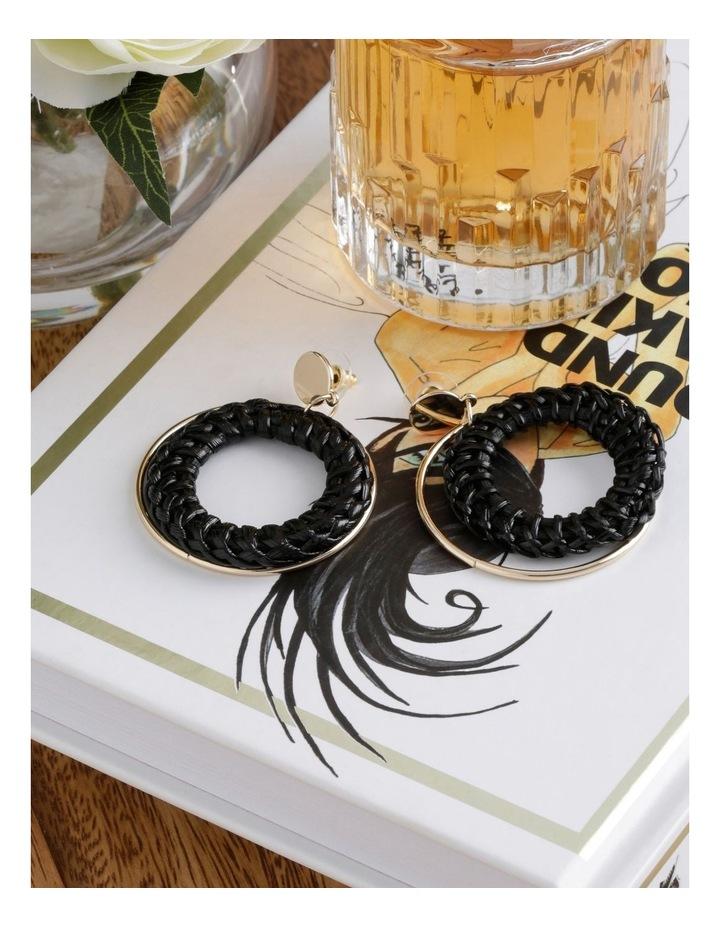 Raffia Metal Earring image 3