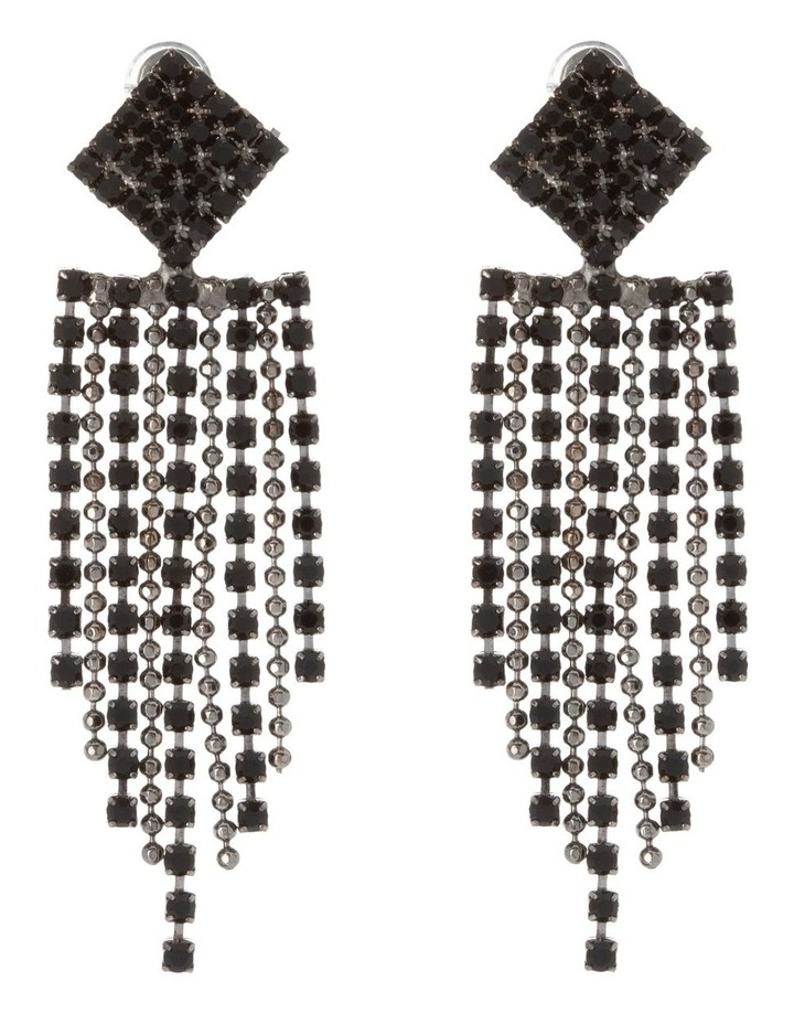 Crystal Drop Midi Earring image 1