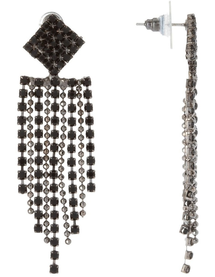 Crystal Drop Midi Earring image 2