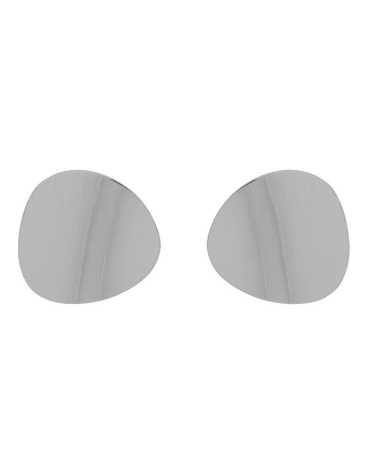 Organic Oval Metal Stud image 1