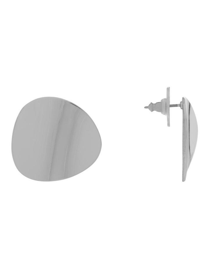 Organic Oval Metal Stud image 2