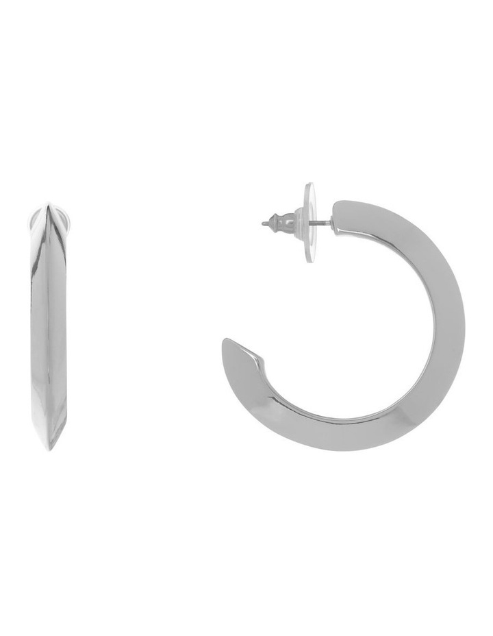 Polished Midi Hoop image 1