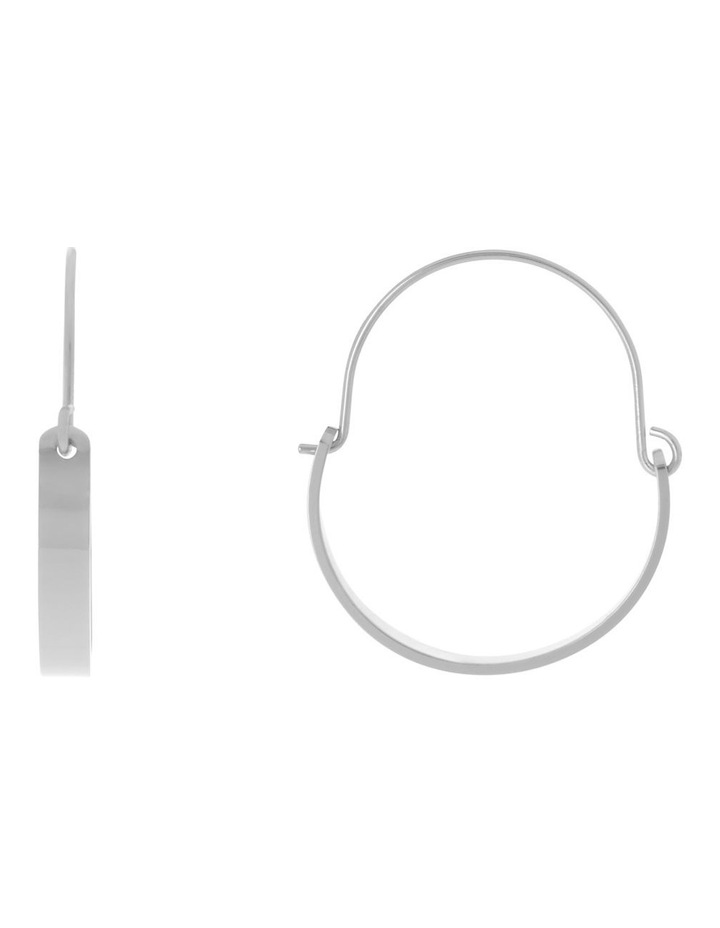 Hinged Oval Earring image 1