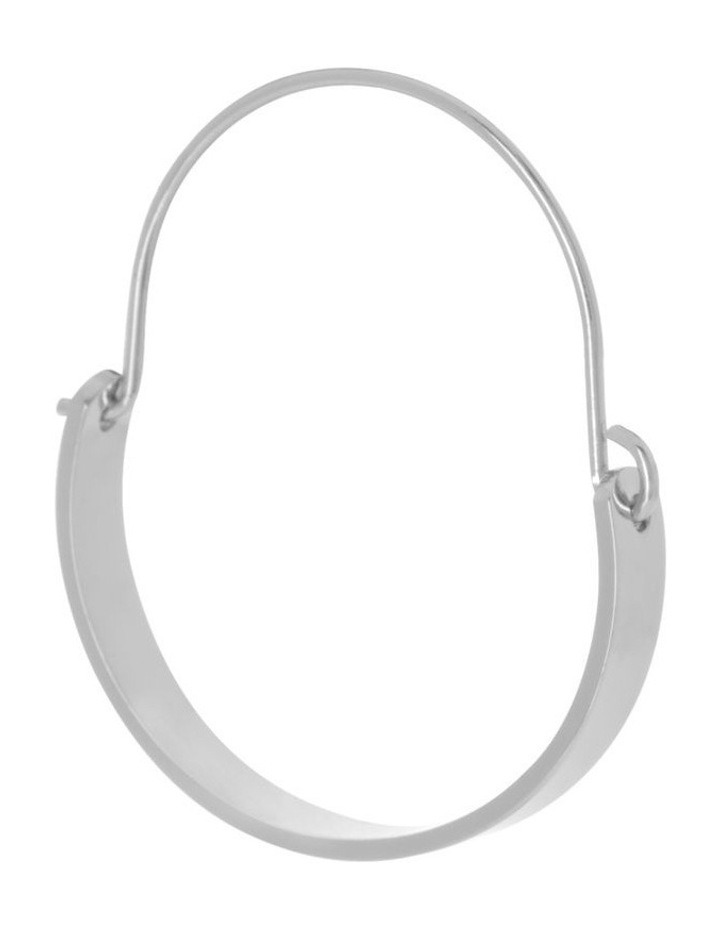 Hinged Oval Earring image 2
