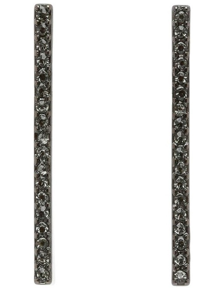 Pave Bar Earring image 1