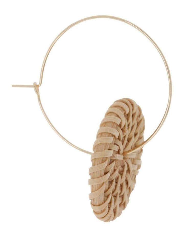Wicker Disc Wire Hoop image 2