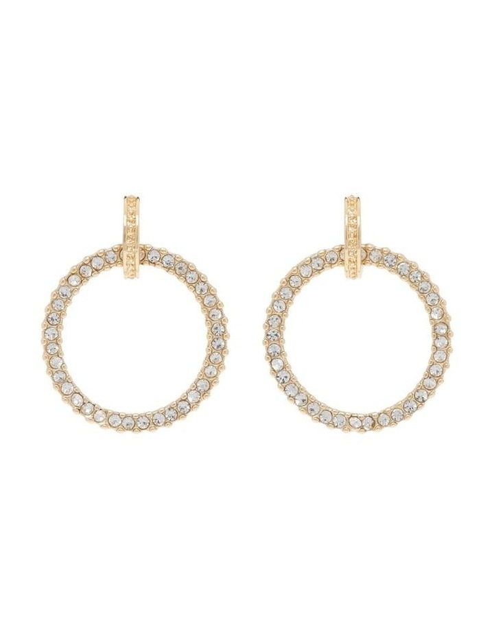 Pave Circle Earring image 1