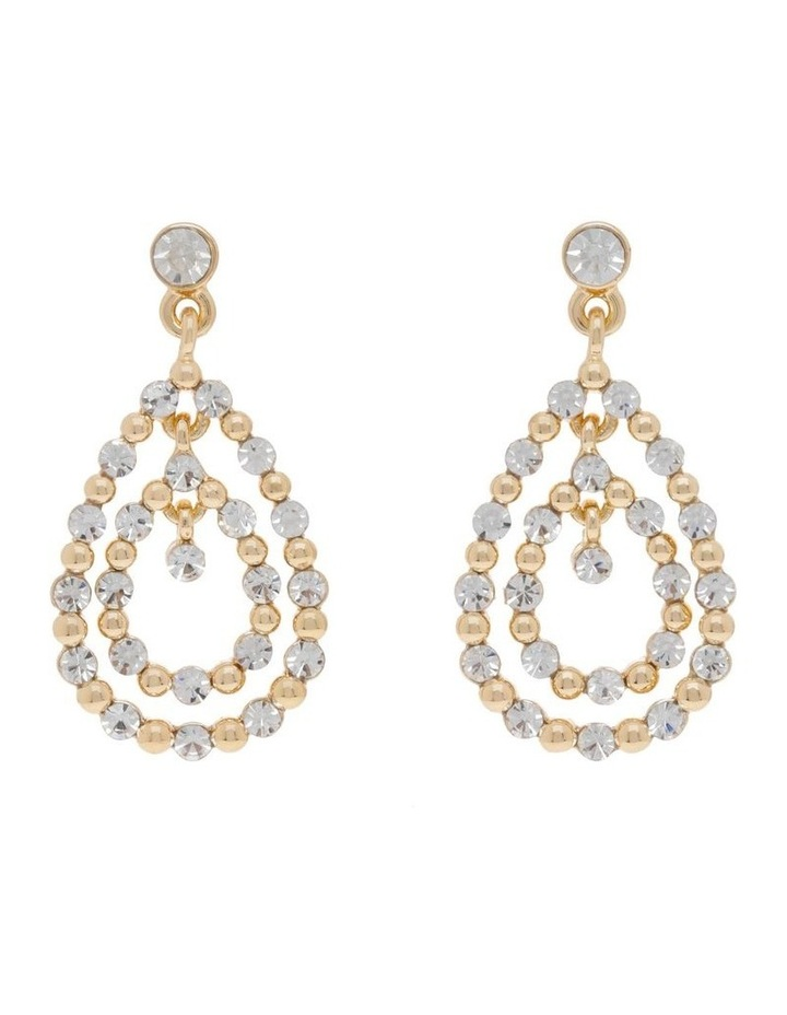 Pave Midi Statement Earring image 1