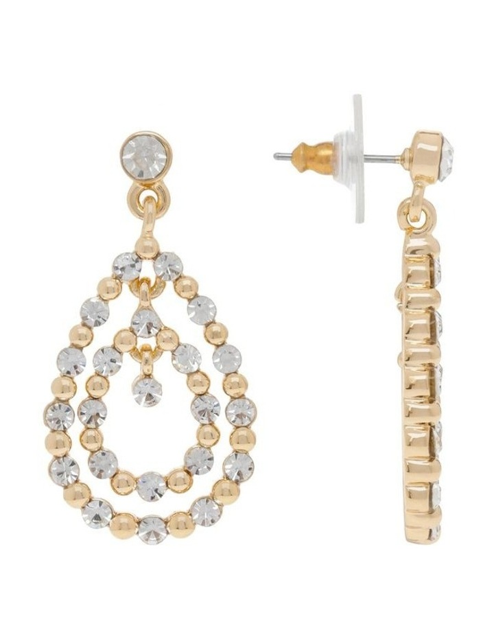 Pave Midi Statement Earring image 2