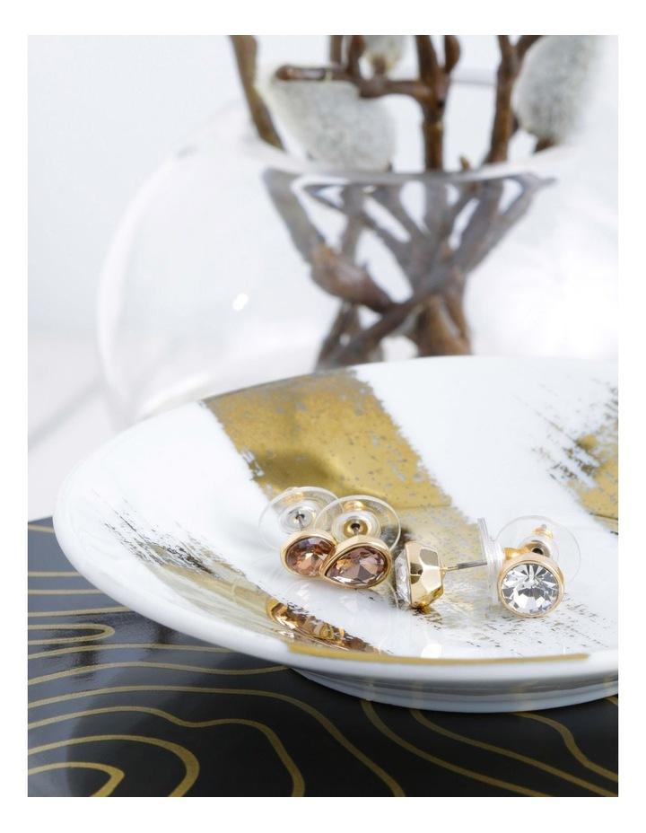 Crystal Stud Earrings - Set of 2 image 3