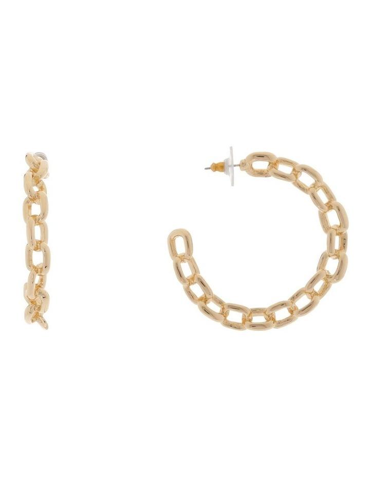 Chain Hoop Earring image 1