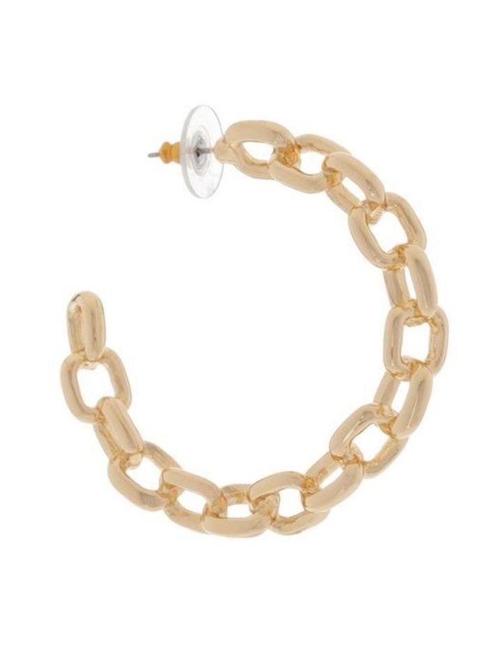 Chain Hoop Earring image 2