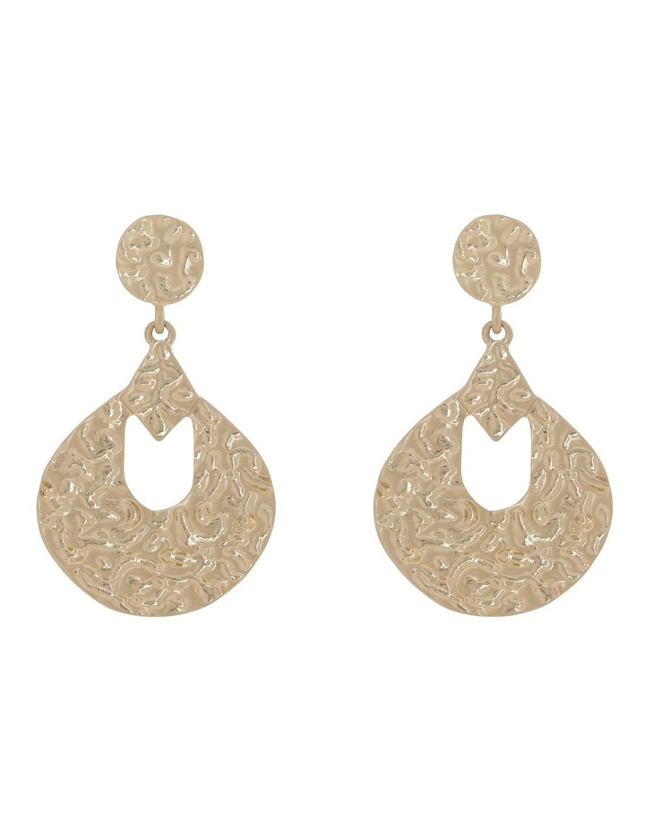 Retro Oval Drop Earring image 1