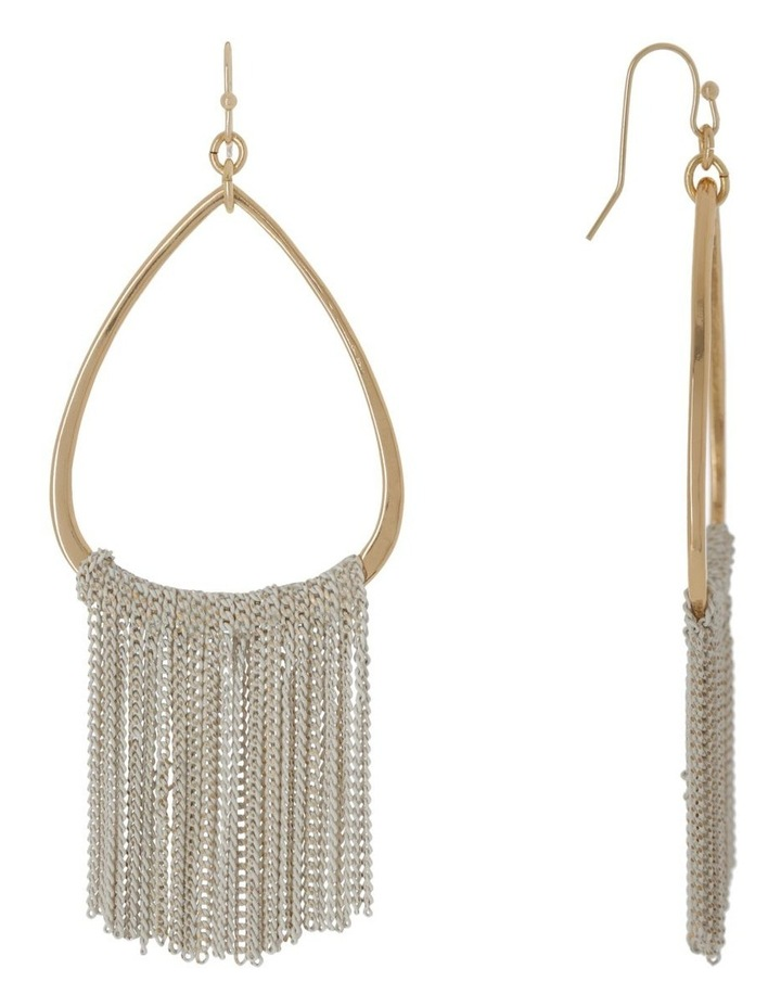 Fringe Hoop Hook Earring image 2