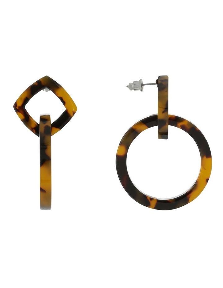 Resin Earrings Tort image 2