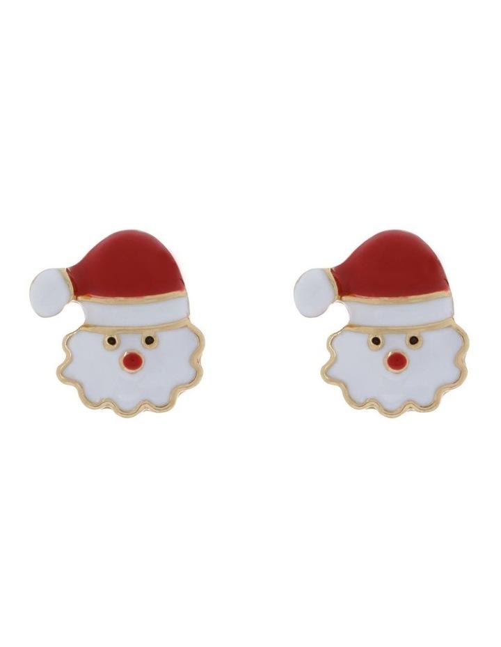 Santa Stud Earrings image 1