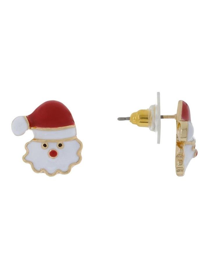 Santa Stud Earrings image 2