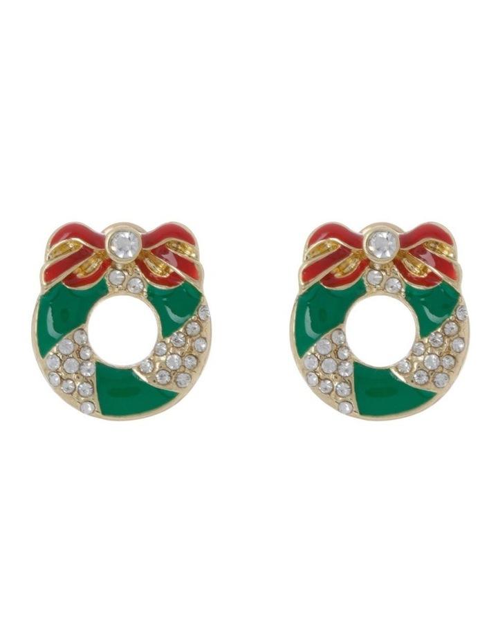 Wreath Stud Earring image 1