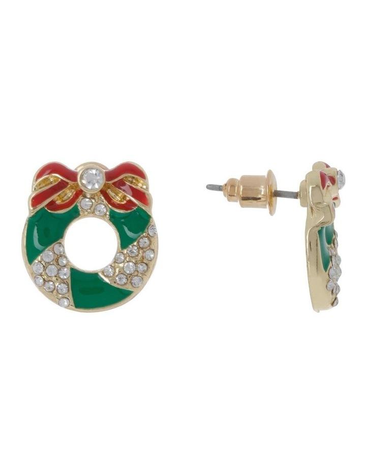 Wreath Stud Earring image 2