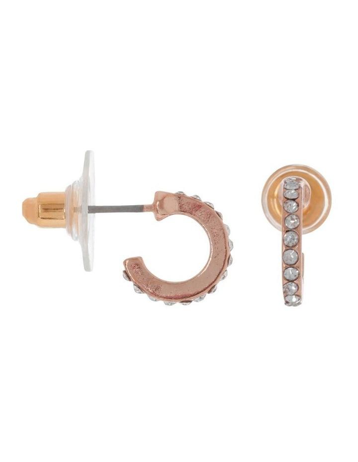 Pave Mini Hoop image 2