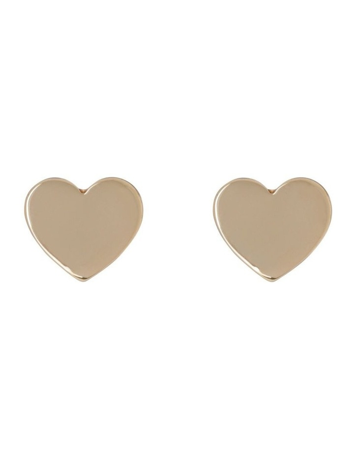 Mini Heart Studs image 1