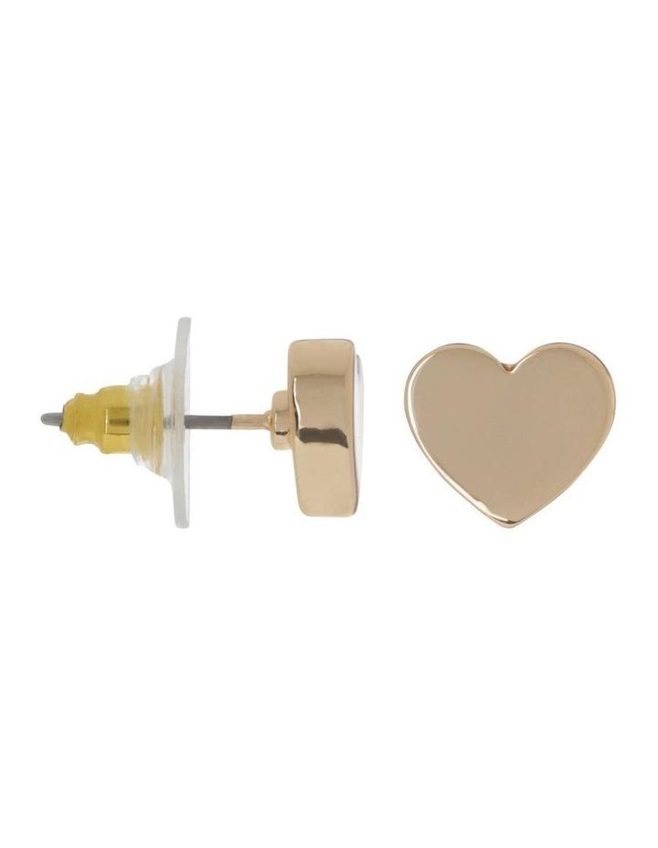Mini Heart Studs image 2
