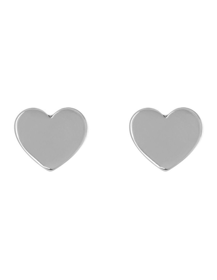 Mini Heart Studs image 1