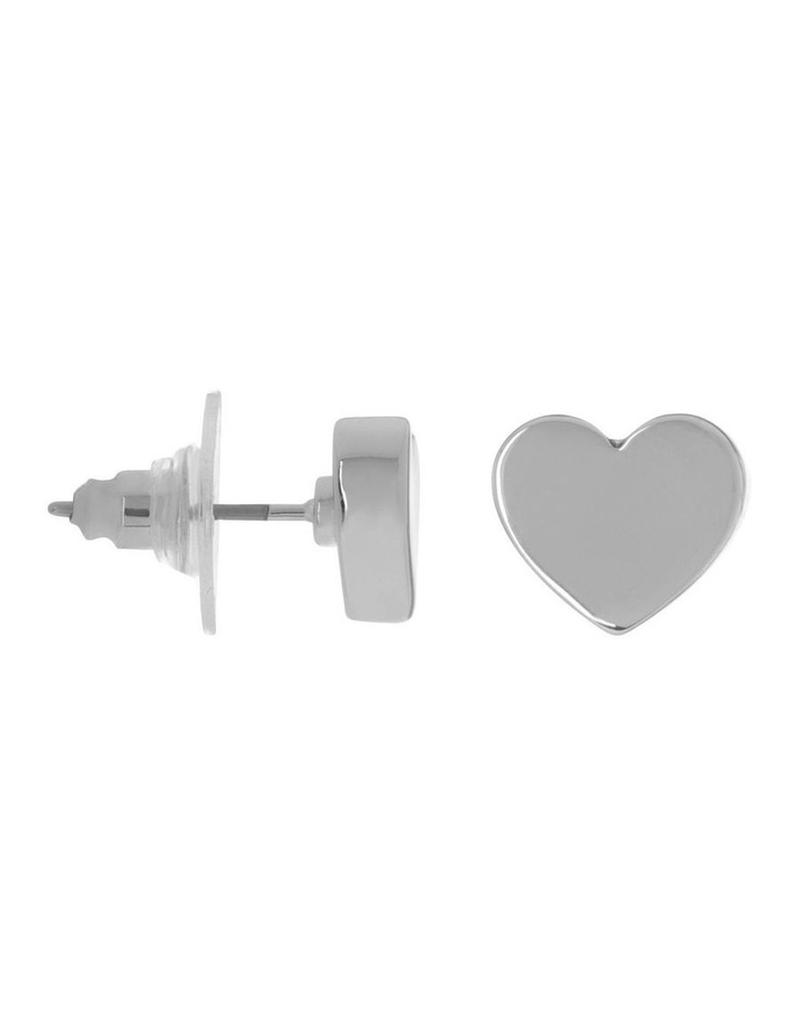 Mini Heart Studs image 2
