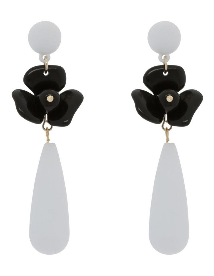 Flower Drop Earring image 1
