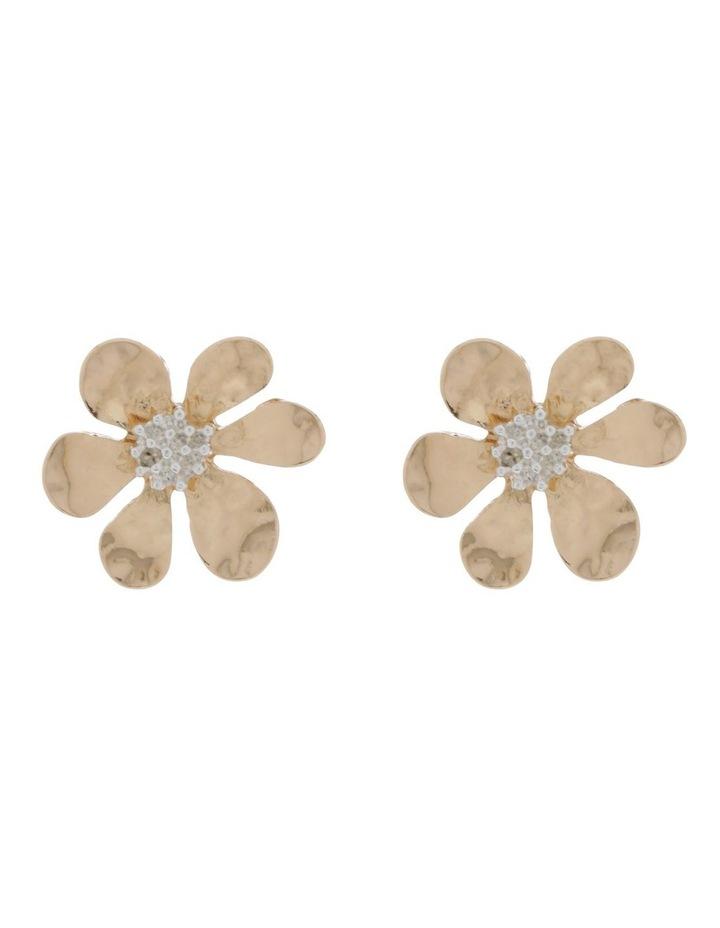 Flower Stud Earring image 1