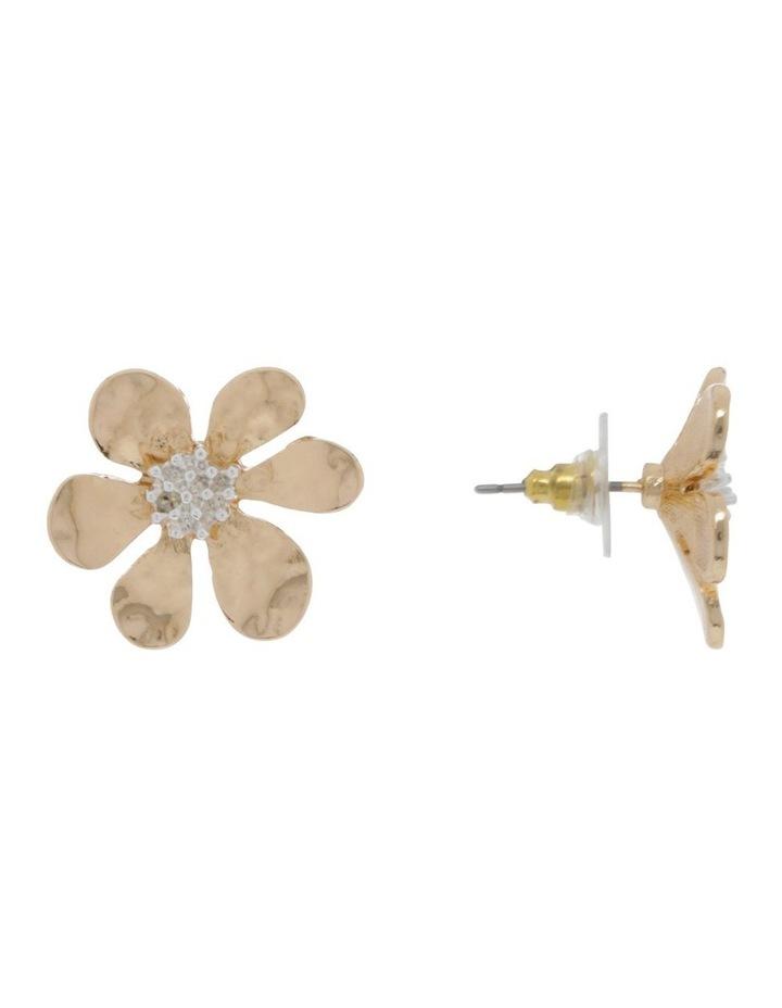 Flower Stud Earring image 2