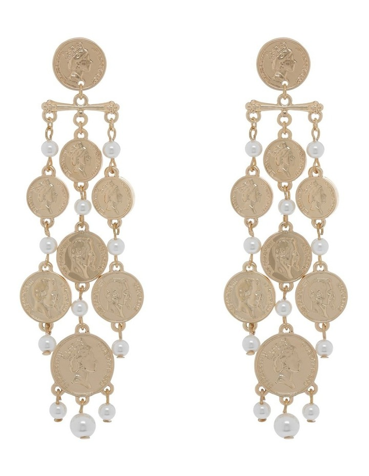 Coin Chandelier Earring image 1