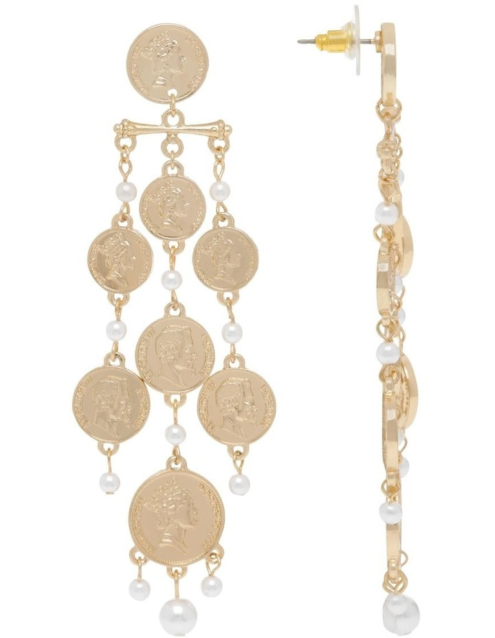 Coin Chandelier Earring image 2