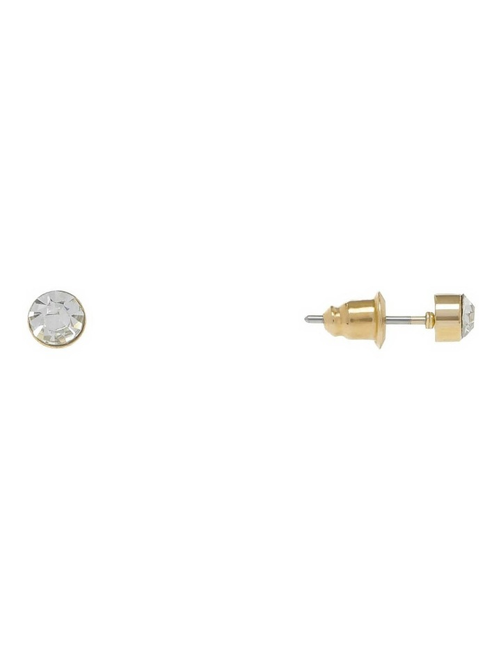 Facet Stud Earring image 2