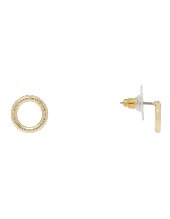 Circle Stud Earring image 2