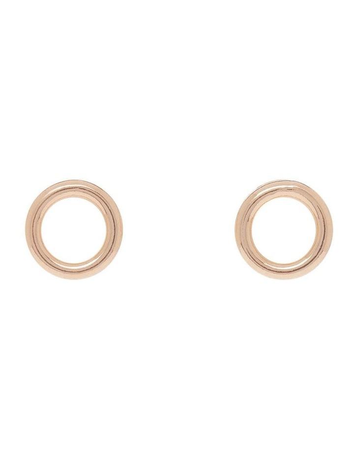 Circle Stud Earring image 1