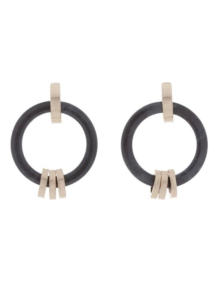 Link Hoop Tort Earring image 1