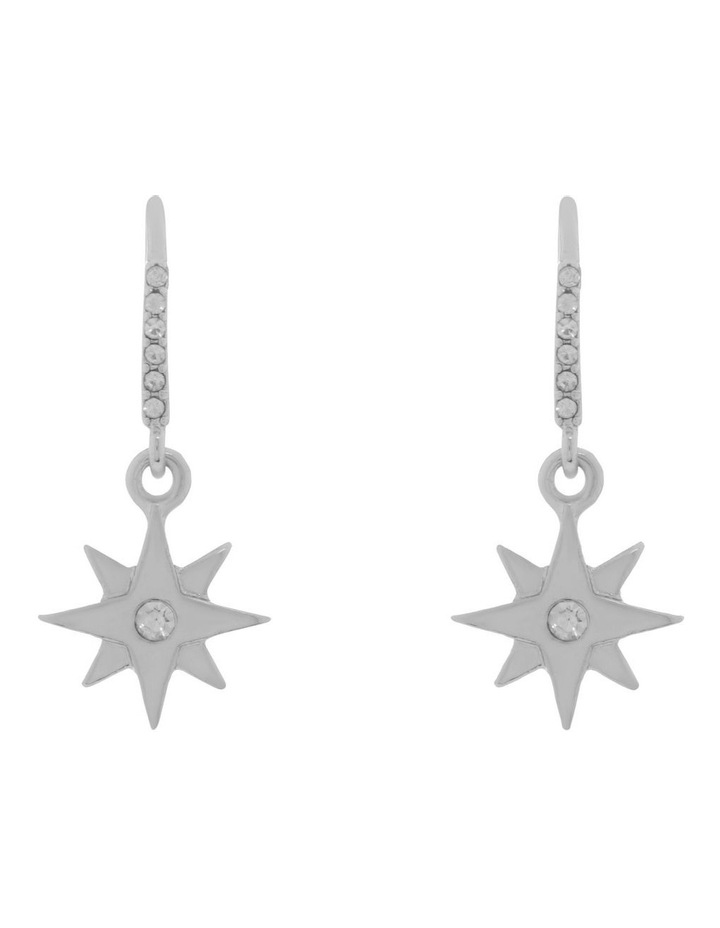 Small Star Drop Earring image 1