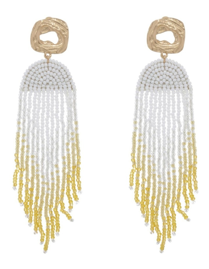 Celestial Beaded Earring image 1