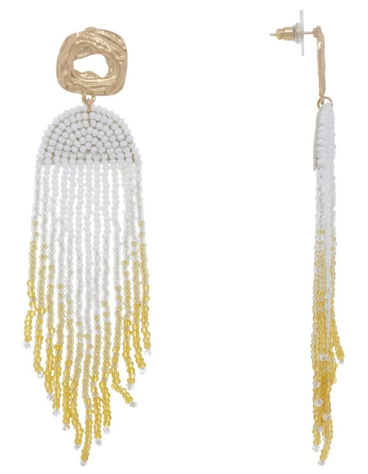 Celestial Beaded Earring image 2