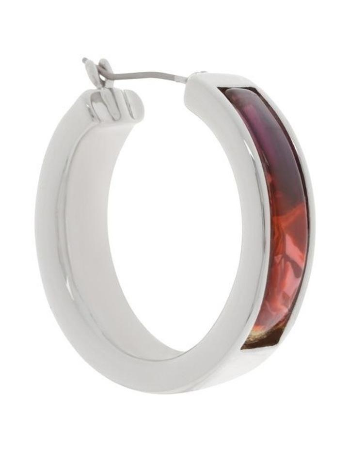 Acetate Modern Hoop Earrings image 2
